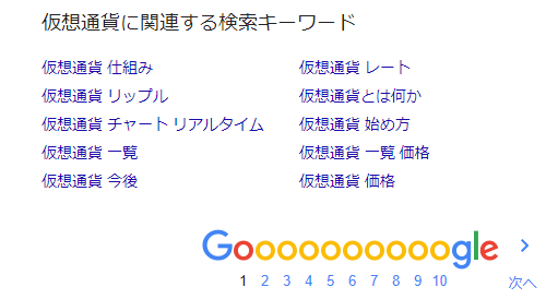 仮想通貨 関連検索キーワード7月